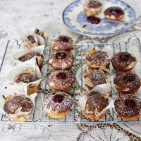 Donut Muffins with Cinnamon Sugar Topping